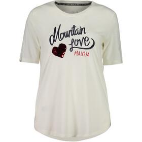 Maloja CasacciaM. - T-shirt manches courtes Femme - blanc